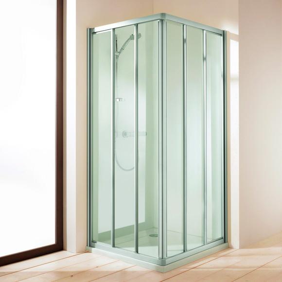 Duschabtrennung schiebetür 3 teilig  Duschabtrennung Eckeinstieg: cm duschkabine eckeinstieg dusche ...