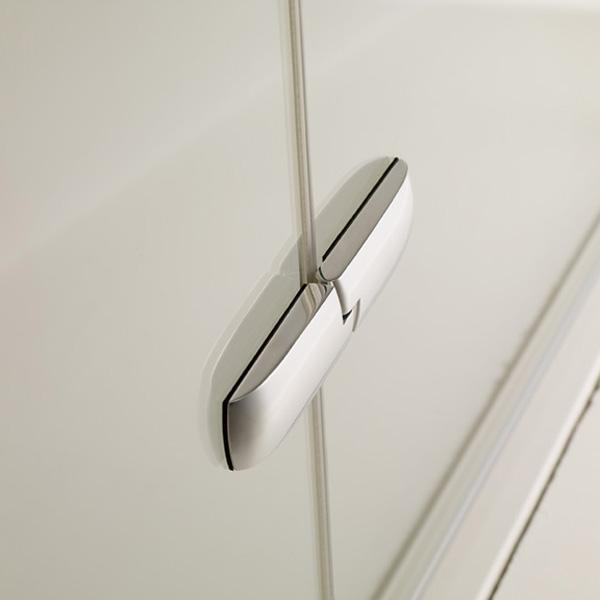 h ppe enjoy eckeinstieg schwingt r mit festen segmenten duschkabine duschabtrennung. Black Bedroom Furniture Sets. Home Design Ideas