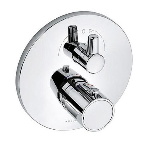 kludi o cean thermostat unterputzarmatur mit absperrventil und umstellung power trade shop. Black Bedroom Furniture Sets. Home Design Ideas