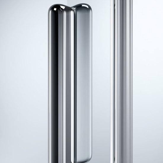 Faltt?r Dusche Nische : Design elegance – Schwingt?ren – Pendelt?r in Nische / H?he 1900 mm