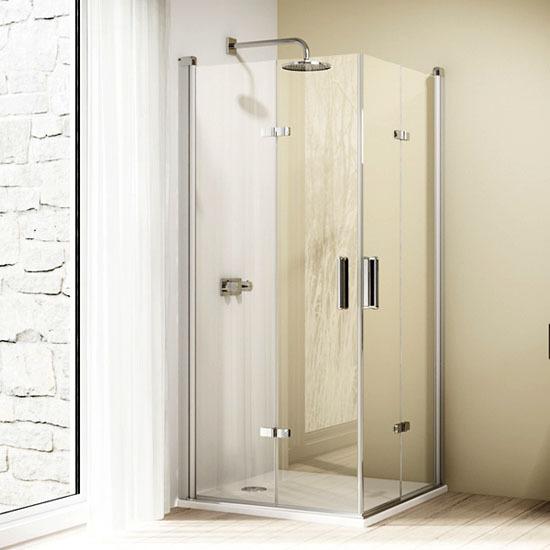 h ppe design elegance schwingfaltt r duschabtrennung. Black Bedroom Furniture Sets. Home Design Ideas