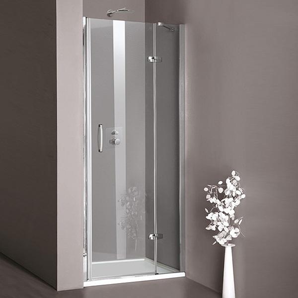 h ppe aura schwingt r mit festem segment f r nische. Black Bedroom Furniture Sets. Home Design Ideas